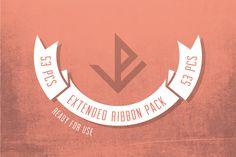 Extended ribbon pack - Ai by Vítek Prchal on Creative Market