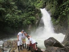 #Catarata Gallito de las Rocas en Satipo,Junin,Perú