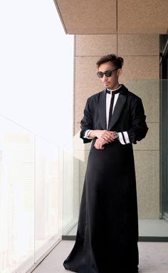 Toby by Hatem Alakeel tuxedo thobe