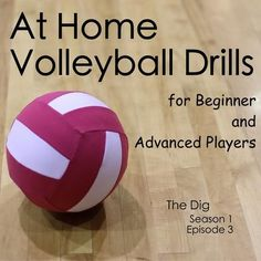 At Home Volleyball Drills for Beginners and Advanced Players – The Dig Episode 003 At Home Volleyball Drills for Beginners and Advanced Players – The Dig – My Little Athlete Volleyball Training, Volleyball Tryouts, Volleyball Skills, Volleyball Practice, Coaching Volleyball, Volleyball Quotes, Volleyball Ideas, Libero Volleyball, Volleyball Inspiration
