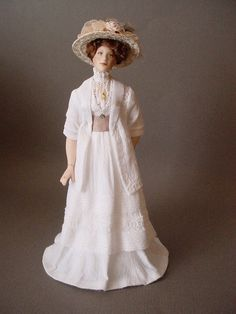 MISS VALLI: Dollshouse doll by Debbie Dixon-Paver