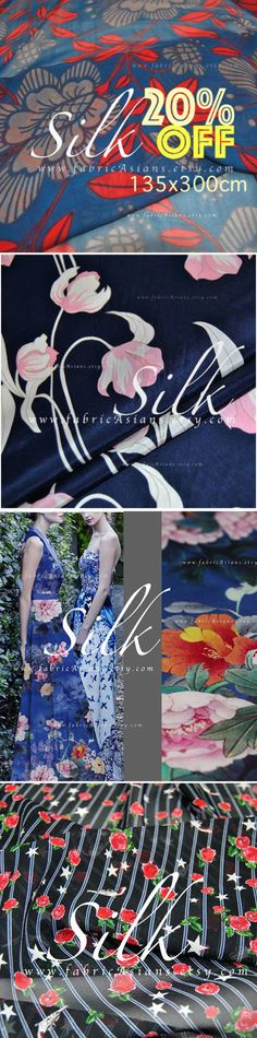 buy beautiful blue silk fabric online