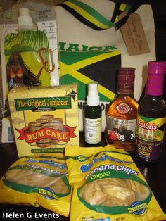 Jamaican Bags By Sun Island Welcome Visitors To Jamaica Poted Helen G Events With Local Favourites