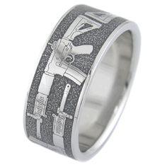 Ault Gun Wedding Ring Camo Rings Pics