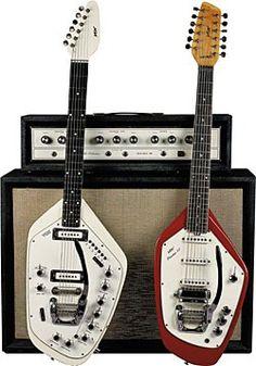 "VOX ""1966"" Vintage ~ Guitar-Organ and Phantom XII"