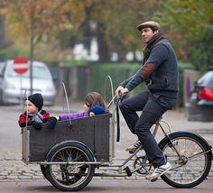Cargo bike (Copenhagen, Denmark)