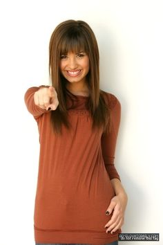 Demi Lovato 2008, Demi Lovato Hair, Camp Rock, Haircuts With Bangs, Long Bob Hairstyles, Haircut And Color, Inspirational Celebrities, Beach Hair, Dark Hair