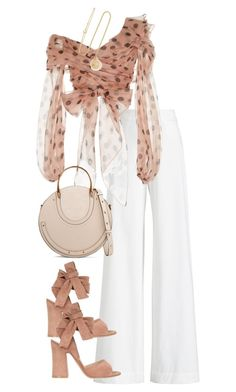 """Untitled #5489"" by theeuropeancloset on Polyvore featuring Ralph Lauren Collection, Johanna Ortiz, Chloé, Gianvito Rossi and Grace Lee Designs"