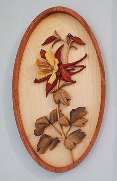 Intarsia Flower by Jack Labor