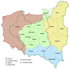 All Poland Database - Geographical Regions