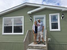 Welcome home Jenna & James! Congratulations! 🏡🔑