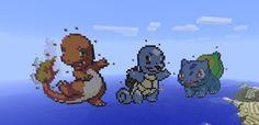 minecraft starter pokemon