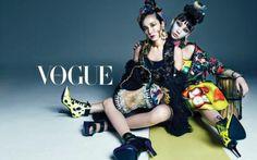 2NE1 take ethnic fashion to the extreme for 'Vogue Korea'... So chic! | allkpop.com