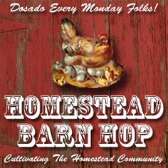 Homestead Revival blog, and a link-up to many other homesteading blogs