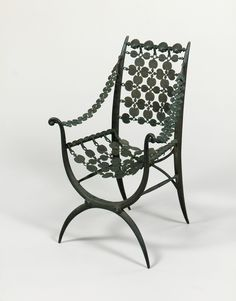 Chair by Armand-Albert Rateau, 1919. (b.1882-d.1938) at Delorenzo Gallery