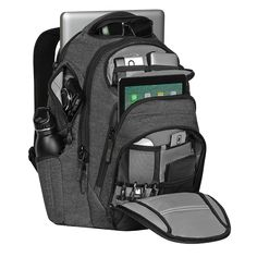 The Renegade RSS Backpack is our most popular backpack that fits most 15-inch laptops and under, with an added tablet pocket.