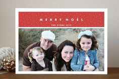 #31. Merry Noel by @Lori Bearden James from Honolulu, HI. Announcing @Minted #Holiday2012 design challenge winners.