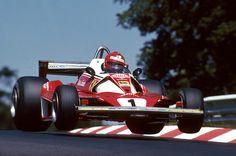 Niki Lauda in the Ferrari 312T