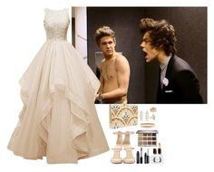 """""""Harry Styles & Niall Horan #8"""" by ambere3love34 ❤ liked on Polyvore featuring Giuseppe Zanotti, KOTUR, tarte, Bobbi Brown Cosmetics, MAC Cosmetics, Chanel, Kenneth Jay Lane, Carbon & Hyde and Shaun Leane"""