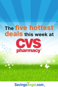 The 6 Hottest #CVS deals this week: 8/21 – 8/27 http://savingsangel.com/blog/2016/08/21/6-hottest-cvs-deals-week-821-827/ #extremecouponing #coupons #grocery #deals