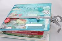 A Project by KristinaNicolaiWhite from our Scrapbooking Altered Projects Galleries originally submitted 10/17/11 at 09:55 AM