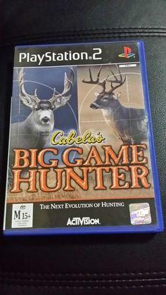 Cabelas big game hunter ps2 game - PAL complete  Fast FREE postage