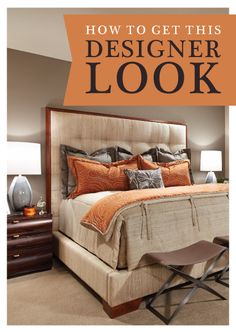 How to get this designer bedroom look | Richmond American Blog | http://how-to-buy-a-home.richmondamerican.com/post/designer-bedroom-how-to.aspx | Featuring @RADesign @progressltg @SherwinWilliams & more!
