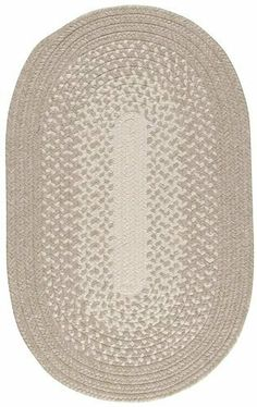 """Taupe Surya Veranda 2'3""""x3'10"""" Indoor/Outdoor Oval Area Rug from RugPal.com by Surya. $153.99. Braided. 2'3"""" x 3'10"""" Oval. Taupe 