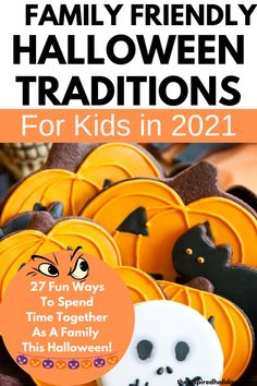 Halloween will be here before we know it! Here are this year's best Halloween ideas for kids and families. There are over 27 spooktactular ways to celebrate Halloween this year. Wait until you see all of the fabulous Halloween traditions you can start with your family this year. Halloween is such a fun time of year for kids so why not make it even more fun with these super fun Halloween activities for kids. Halloween This Year, Halloween Ideas, Traditions To Start, Halloween Traditions, Halloween Activities For Kids, Friends Family, More Fun, Fun Time, Traditional