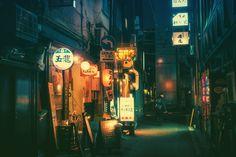 Magical Night Photos Of Tokyo's Streets By Masashi Wakui