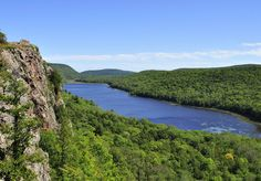 Lake of the Clouds. Porcupine Mountains  Michigan. Seen this view myself toward the end of 11 mile hike through mountains. Absolutely beautiful!