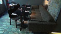 Les tables de l'hôtel Jules et Jim