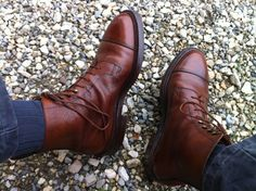 Coniston Leather Boots by Crockett & Jones