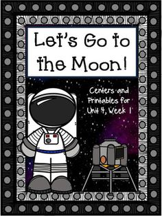 "Included are the printables that can be used for centers or morning work to practice the skills taught in ""Let's Go to the Moon"", Unit 4, Week 1. This is a great supplement to use with your first grade Journey's Curriculum. Hunting for printables that match the lesson is over."