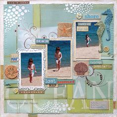 Emilia van den Heuvel: By the Sea {Sparkle N Sprinkle}