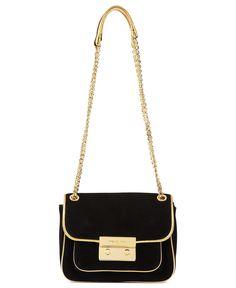 MICHAEL Michael Kors Handbag, Sloan Small Shoulder Bag - Handbags - Handbags & Accessories - Macy's- $185.99