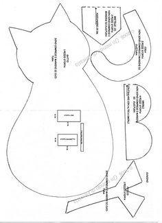 cartamodello fermaporta gatto - Cerca con Google