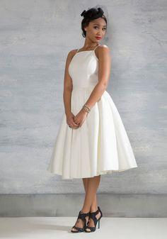 Beloved And Beyond Midi Dress In Ivory This Gorgeous Fit Flare By