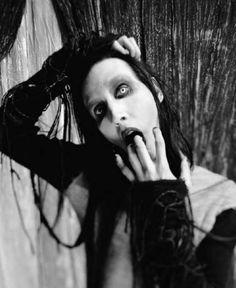 Marilyn Manson MM sexy hot gothic