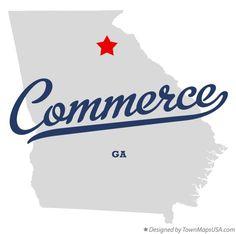 Commerce Georgia Map.7 Best Commerce Georgia Images Georgia Usa Georgia On My Mind