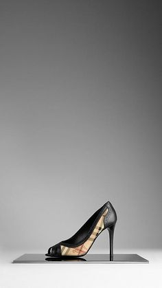 I love burberry heels the most!