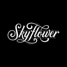 """1,034 Likes, 12 Comments - Tobias Saul (@tobiassaul) on Instagram: """"The final logotype SkyFlower! For @warpedcigars ✨"""""""
