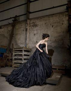Un noir si romantique ! ~ boudoir et blog féminin de la créatrice Vanessa Lekpa