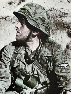 German Waffen-SS grenadier