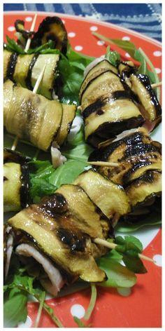 Zucchine grigliate e ripiene, per run gustoso antipasto ! #zucchine #antipasto #ricettegustose