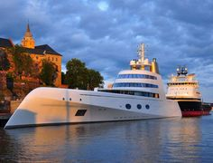 Yacht A by Philippe Starck