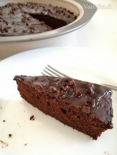 Cuketové brownies (bezlepkové) Cooking Recipes, Healthy Recipes, Healthy Cookies, Brownies, Cake Recipes, Food And Drink, Low Carb, Gluten Free, Sweets