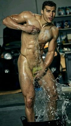 Getting Wet, Getting Things Done, Perfect Body Men, Muscular Back, Paul Freeman, Wet Water, Muscle Hunks, Smart Jokes, Suit And Tie