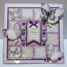 Hi Folks Hope you are all well and enjoying the weekend. It is bright and sunny here this morning so hopefully no rain today. Craftwork Cards, Step Cards, Butterfly Cards, Card Sketches, Color Card, Craft Work, Homemade Cards, Making Ideas, I Card