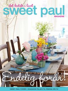 Sweet Paul Magazine, Danish edition. Out thursday with FEMINA #sweetpaul #denmark